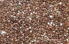 Steinteppich+Binder 100 m² Marmorsteine 2-4 mm Bodenbelag für Wohnräume Keller