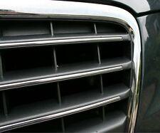 Audi A4 S4 RS4 Chromstreben quer Kühlergrill S-line 8K B8