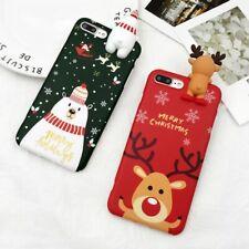 3D SNOWMAN & REINDEER CHRISTMAS IPHONE CASES!!!
