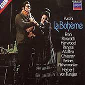 Puccini: La Boheme [Audio CD] Giacomo Puccini; Herbert von Karajan; Berlin Phi..