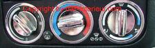 (Lb) Polierte Alu Lüftungs Ringe BMW E36 chrom 3 St.