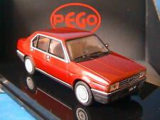 ALFA ROMEO 90 E BERLINA 2.5 STRADALE 1986 RED MET PEGO
