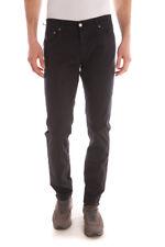 Pantaloni Daniele Alessandrini Trouser -55% Uomo Blu PJ4610L1003531-23 SALDI