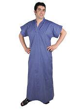 Herren Kaftan Tunika Hauskleid Sommerkleid Nachthemd Sauna- Wellness- Kleid- 669