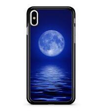LUNA BLU SUPER OCEAN ACQUA Bella Tela Pittura 2D TELEPHONO CASE COVER