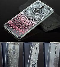 Nokia 8 Tasche Silikon Case Hülle Schutzhülle Bumper Cover mit Tattoo Design