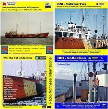 Pirate Radio - RNI - Volumes 1, 2, 3, & 4 Over 90 hours on 4 MP3 DVD Discs