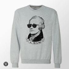 Hamilton Sweater - A.Ham Sweater  - Alexander Hamilton in Sunglasses Sweater