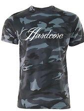 Camo MMA T-shirt Hardcore Palestra Bodybuilding Palestra Abbigliamento Mezzanotte Verde