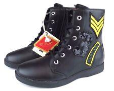REPLAY OXFORD Damen Frauen Stiefel Mädchen Schuhe Women Boots Leder UVP 115,-
