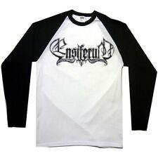 Ensiferum Logo Baseball Shirt S M L XL Official Long Sleeve Raglan Folk Metal