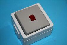 Schalter, Vedder Kontroll Taster 9390K auf Putz IP44