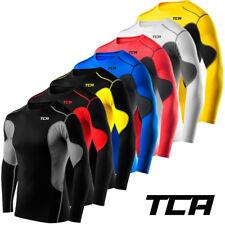 Men's boy's TCA superthermal Armour Compression base layer top sous chemise skins
