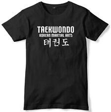 Taekwondo Korean Martial Arts Mens Funny Unisex T-Shirt