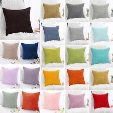 """Decor Throw Pillow Covers Square Pillowcase Cushion Cover 18"""" x 18"""" 45 x 45 cm"""