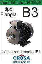 Motore TriFase - B3 con piedini - Professionale e Performante Gamma Completa