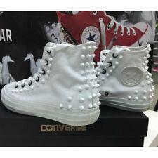 Converse All Star Detroit Scarpe Borchiate Handmade Borchie Uomo Donna Classiche
