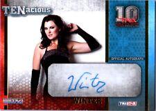 TNA Winter 2012 TENacious GOLD Authentic Autograph Card SN 40 of 100