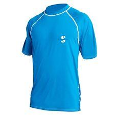 Scubapro Rash Guard Loose Fit T-Shirt UPF 50 blau