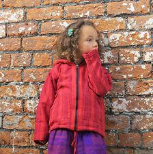 Childrens Boys/Girls Coat Kids Fleece Hoody baby Festival Clothes Jacket hippy,