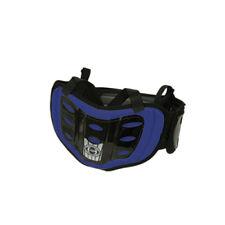 HRP K-Rib Wrap Blue ATV MX Motocross Offroad Motorcycle Riding Back Kidney Belt