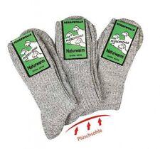 3 Paar plüschsohle Socken mit Schafwolle damen und herren trachtensocken CH 523