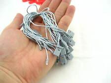 GRIGIO stringa del contrassegno lock fastener etichettatura tagging forniture QUADRATO tag finale si blocca