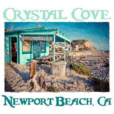 Crystal Cove Shack - Newport Beach T Shirt