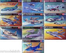 TAMIYA 1/100 aerei jet militari () Nuovo Kit di Modello in Plastica