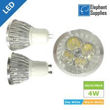 GU10 W 4W LED Light Bulbs capsula lunga vita LAMPADE RISPARMIO ENERGETICO