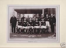 MOUNTED FOOTBALL TEAM PRINT - LIVERPOOL F.C. 1931-32