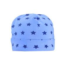 STUMMER Jungen Baby Mütze Sterne blau