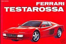 Ferrari Testarossa and 512TR - out-of-print book by Automobilia In Italian