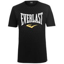 Everlast geo t-shirt black campeón Rocky Balboa Training Gym Sport MMA WWE