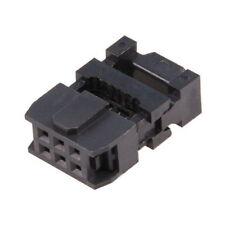 Connecteur IDC femelle 6-contacts Pas 2.54mm Pin À Sertir pour Ribbon Flat Cable