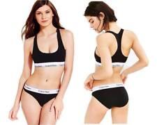 Calvin Klein Women CK Ladies Underwear  Bralette -Briefs Boxers Set Black
