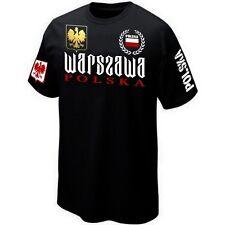 T-Shirt WARSZAWA VARSOVIE POLSKA POLAND POLOGNE - Maillot ★★★★★★