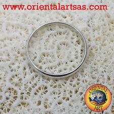 Fedina in argento 925 ‰ da 2 millimetri ferma anello