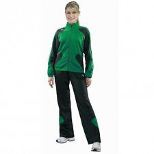 erima Scorer Line Polyesteranzug Jogginganzug Damen smaragdgrün / schwarz