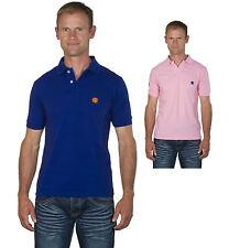 Ugholin - Polo Homme Racing Coton Piqué Manches Courtes Logo et Chiffre Brodés