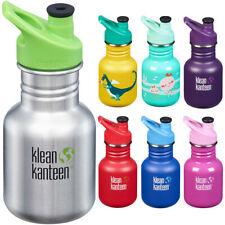 Klean Kanteen Kid Classic 12 oz. Single Wall Bottle with 3.0 Sport Cap