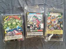 Cartes à l'unité Dragon Ball Z DBZ Card Game Part 10 JAP