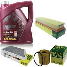 Ölwechsel Set 5L MANNOL Energy Combi LL 5W-30 MANN Inspektions Service 10045960