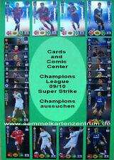 Panini Champions League 09/10 todos campeones, por ejemplo, messi, ronaldo, kaka escoger
