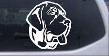 Mastiff Dog Car or Truck Window Laptop Decal Sticker