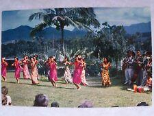 Hawaii, Dancing under the Sky, Island Beauties Sway Unused Prisitne HI POSTCARD