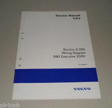 Wiring Diagrams / Schaltpläne Volvo S 80 Executive Stand 2000