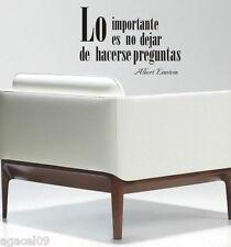 To 13. importante lingua spagnola Muro Citazione Vinile Decor Adesivo Decalcomania Stencil