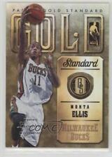 2012-13 Panini Gold Standard Limited Edition 29 Monta Ellis Milwaukee Bucks Card