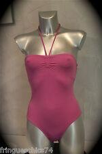 maillot de bain 1 pièce violet ERES berenice duni T 36/38 NEUF ÉTIQUETTE V. 270€